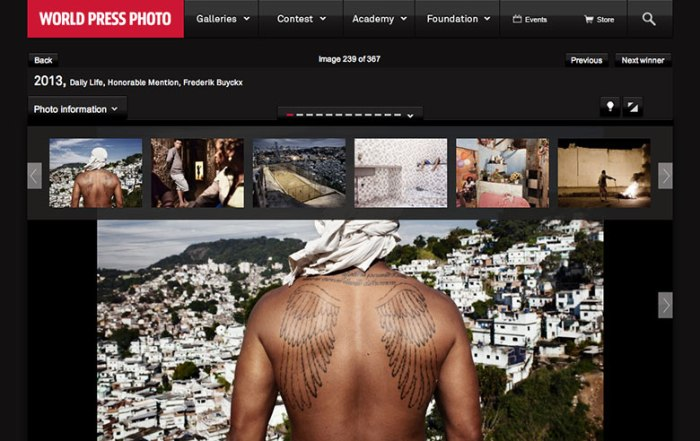 World Press Photo, Daily Life, Honorable Mention.